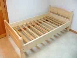 деревянный каркас кровать