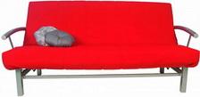 диван с металлическим каркасом