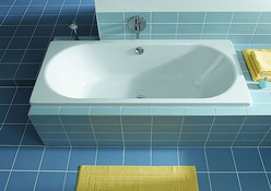 чугунная ванна с плиткой