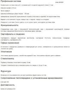 VEKA WHS 60
