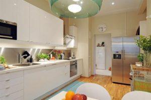 освещение на потолке на кухне