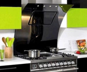наклонная вытяжка на кухню