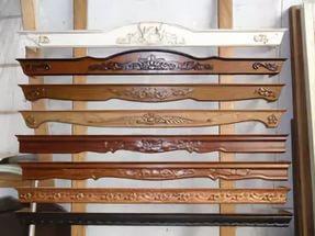деревянный карниз для штор