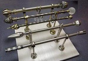 металлический карниз для штор
