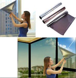 как снять плёнку со стекла
