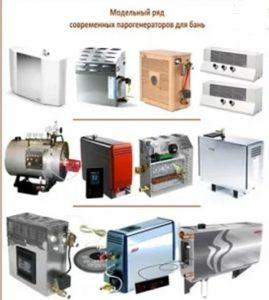 парогенераторы для бань
