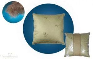 подушки из шерсти