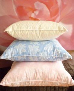пухо-перовые подушки