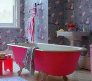 обои для ванной