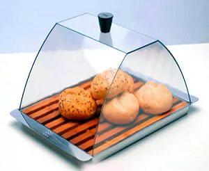 стеклянная хлебница