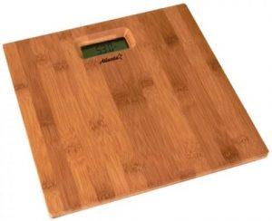 деревянные напольные весы