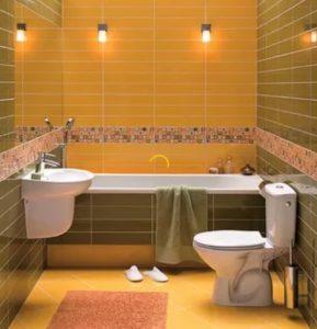 фото плитка в маленькой ванной