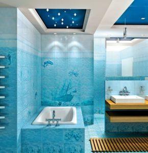настенная керамическая плитка для ванной