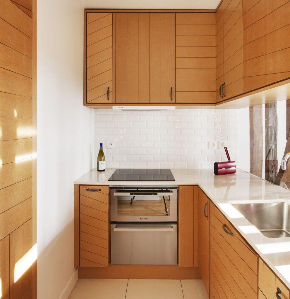 кухня в хрущёвке 5 на 5 кв. м.